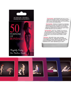 50 Positions Of Bondage Sex Cards